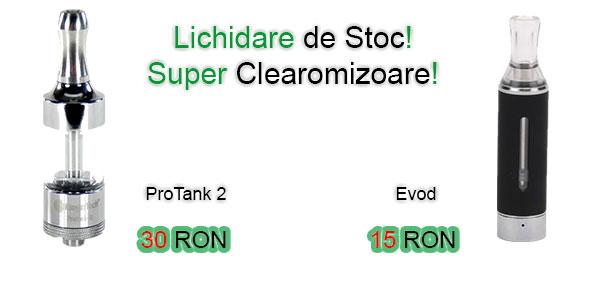 Promotie Clearomizor Protank Evod