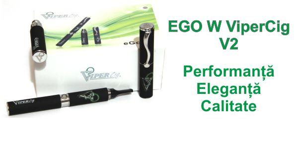 Cea mai performanta tigara electronica Ego W Vipercig v2